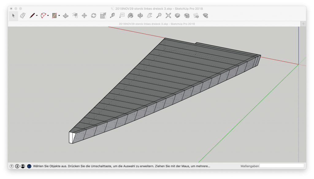 3D-CAD Bootspolster Bootskissen Bug Bugpolster Bugpolster Bugdreieck Segelboot Motorboot Starnberger See Ammersee Yacht Yachtpolster Yachtkissen Sketchup