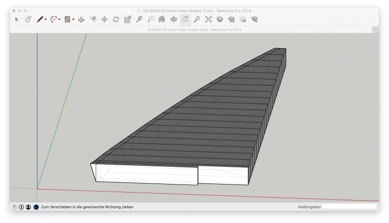 3D-CAD Sketchup Bootspolster Bootskissen Bug Bugpolster Bugpolster Bugdreieck Segelboot Motorboot Starnberger See Ammersee Yacht Yachtpolster Yachtkissen