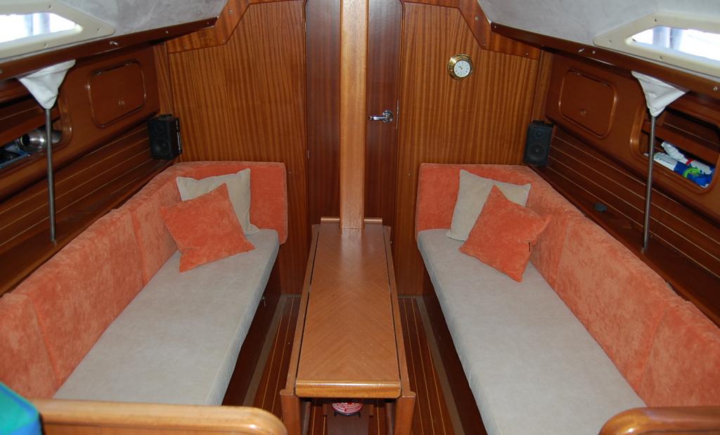 Boot Yacht Segelboot Kissen Polster Sitzkissen Bootskissen Bootspolster Starnberger See Ammersee Kajüte Salon