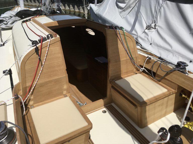 maßgeschneiderte Polster Boot Segelboot